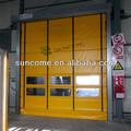 Suncome de alta velocidade H-5000 pvc dobradura porta