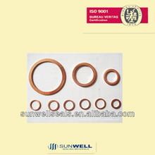 Solid Copper Gaskets/copper flange gasket