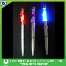 Rainbow Color Light Led Torch Light Pen For Office Clerk