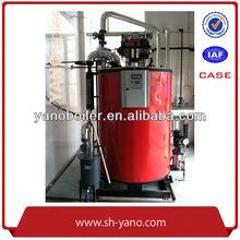 0.1T Steam Boiler Fuel Oil or Gas 3 Pass Steam Boiler