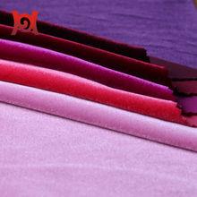 polyester spandex velvet