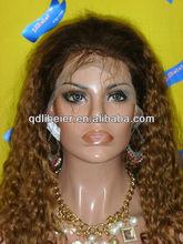 100% brazilian virgin hair lace front wig