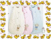 100% organic cotton lovely teddy bear infant baby sleeping bags