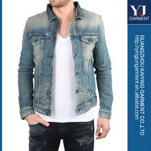 Denim Men Jacket made in China