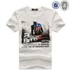 2014 new plain white t-shirt men fashion china
