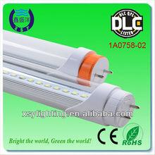 High lumen and power led tube light t8 20w DLC UL approved warehouse illumination led tube light