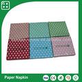 Cor personalizada impressa floral guardanapos de papel, hot pink guardanapos, pêssego guardanapos de papel