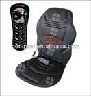 12 V 5 motor Car massage seat heat cushion