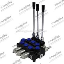3 handle spools control valve,monoblock valve,ZD-L10E-3OT