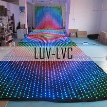 led curtain dj,disco,party use