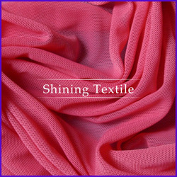 hot selling nylon or polyester mesh fabric