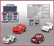 Metal car Q version mini car, diecast car