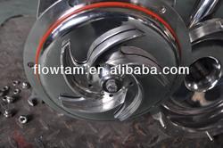 centrifugal pump stainless steel impeller