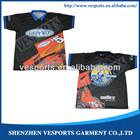2014 Custom motorcycle racing team pit crew shirts