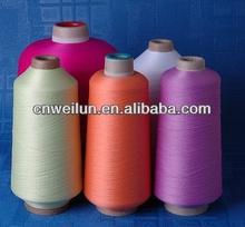 100% nylon yarn socks 70D/68F 100-120 twist