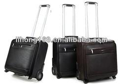 Top quality stylish pull rod box trolley luggage