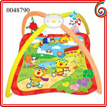 2014 Chenghai musical play mat baby folding play mat 100% cotton baby play mat