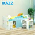 De alto brillo del bebé cuna/alta cama niño/saludable ergonómica ajustable de la cama de los niños