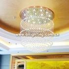 Big size crystal pendant light fancy lamp