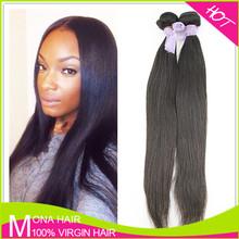 Unprocessed wholesale straight virgin Filipino hair