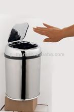 Mini desktop trash bin, sensor electronic waste bin stainless steel 3 liter GMS-03LQ