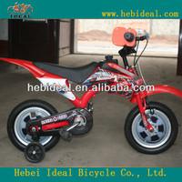 2015 years red color kids motor bicycle / bicicleta / kids bike /toy bike