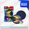 Neoprene polyester sand Catch Ball Game Set