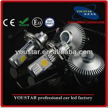 high lumen 64W Adjustable C.R.E.E 12 volt automotive led lights h4 led