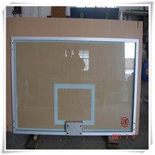 Outdoor Steel Framed Basketball Glass Backboard Tempered Glass Basketball Backboard