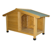 Pouplar designed wooden dog kennel for large dog DK007S