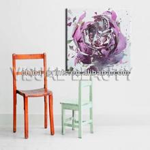 Slit Flower canvas painting ,PHOTO frame ,prints frame for home decor