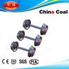 mining car wheel steel for four bearings
