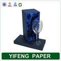 Vidro de vinho caixa de embalagem único caixa de vidro de vinho