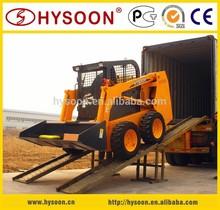 60cv diesel bobcat skid steer loader per la vendita
