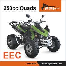 EEC Certified New 250cc Quad Atv Import