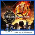 Nuovo bronzo The Hunger Games: prendere fuoco replica prop collana pendente