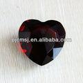 en forma de corazón de cristal de diamante de cristal como la decoración de la boda o grabado de regalo