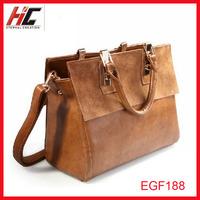 New hot sale Vintage cowhide genuine leather women bags