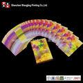 カスタムプラスチックコーティングされた紙のカードゲーム、 教育メモリカードゲームの印刷