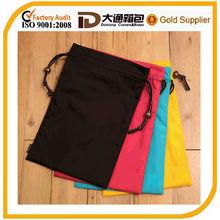 2014 promotion customized cotton drawstring shopping bag