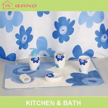Hot sale european design ceramic washroom gifts