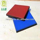 Damping rubber flooring bricks for swimming-pool
