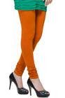 TSG Breeze Indian Churidar Premium Cotton Leggings- 118- Medium Rust Colour