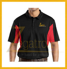 custom polo shirt design with 2 colors combination