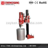 thick wall glass stone and granite diamond core drill bit machineOB-305C