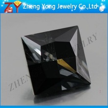 Black and White Synthetic Gemstone