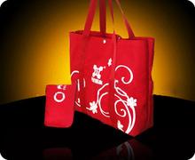 shanghai colourful laminated non woven shopping bag