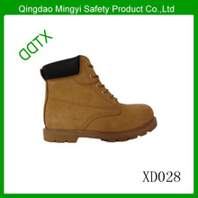 High ankle oil and slip resistance industrial men's safety shoes