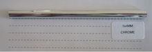 cromo 5x4mm decoración de perfil dekorasyon profil de plástico tira de ajuste