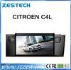 ZESTECH HD digital screen car radio mp3 player dvd rds gps for Citroen C4L